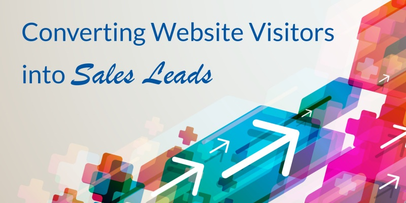 Converting Website Visitors into Sales Leads